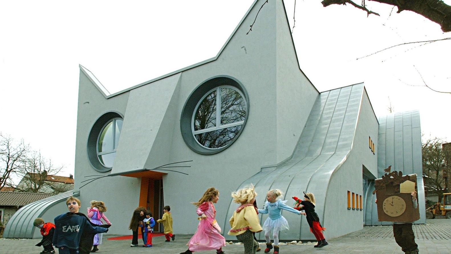 Kindergarten Wolfartsweier en Karlsluhe, Alemania