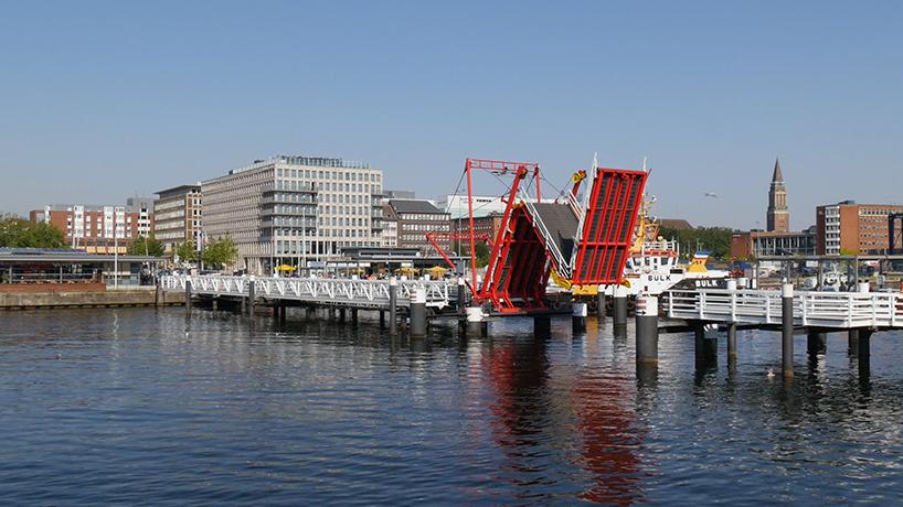 Hörn Bridge, en Kiel (Alemania)