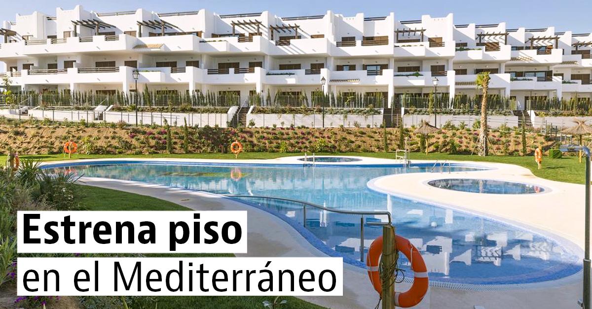 Apartamentos nuevos en la costa mediterránea española