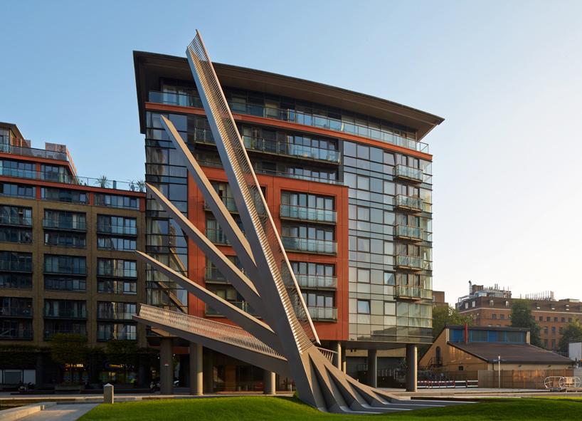 Paso de Paddington, de Knight architecture. Londres (Inglaterra)