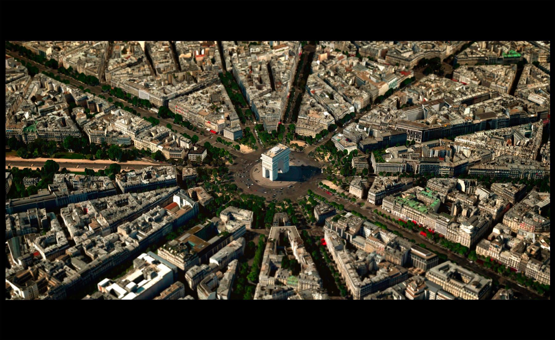 cinemascapes: my street view edition - Paris