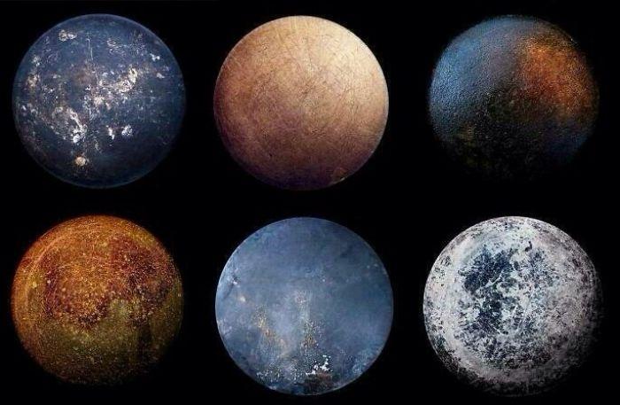 El fondo de las sartenes que dibujan planetas