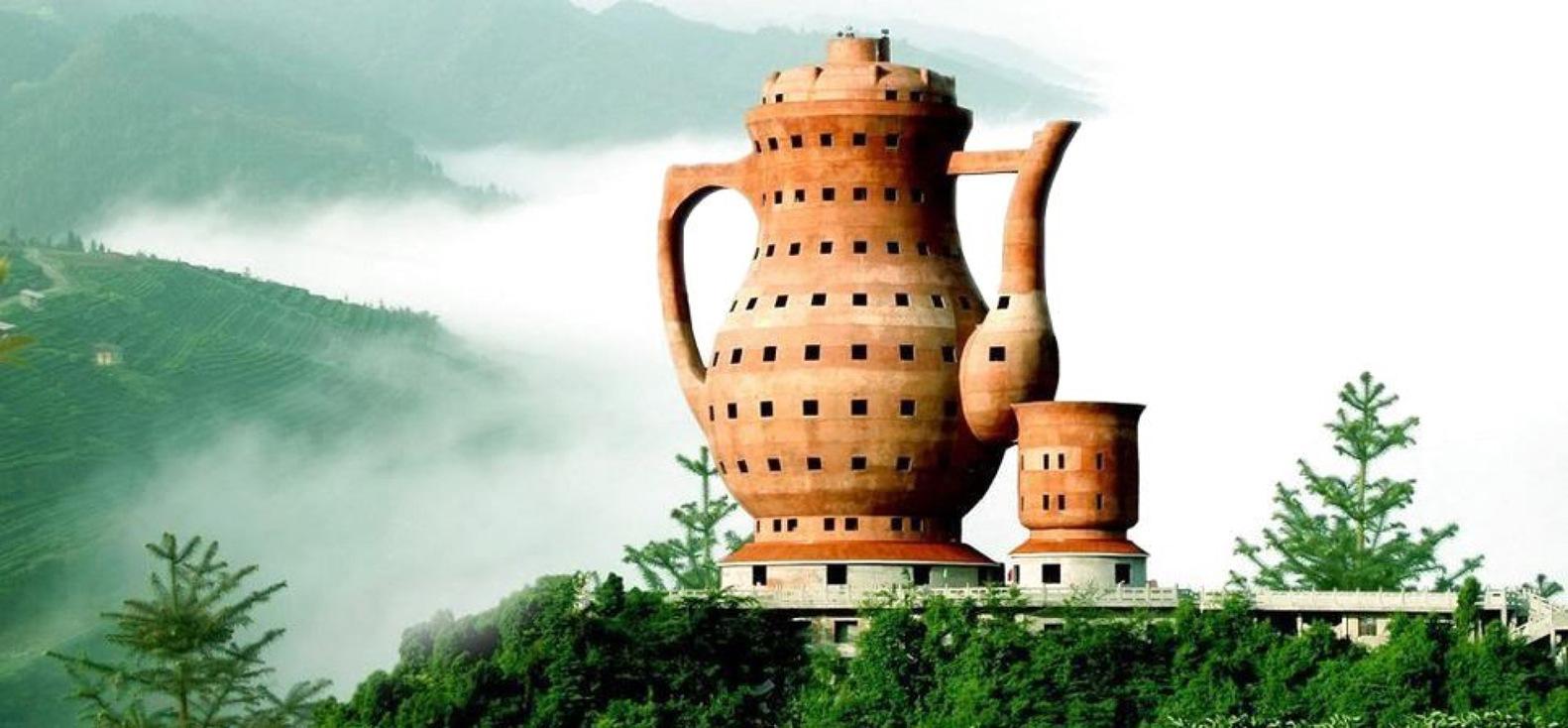 The Museum of Tea Culture en Meitan, China