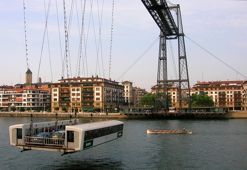 El puente de Vizcaya, entre Getxo y Portugalete (España). / Javier Mediavilla Ezquibela