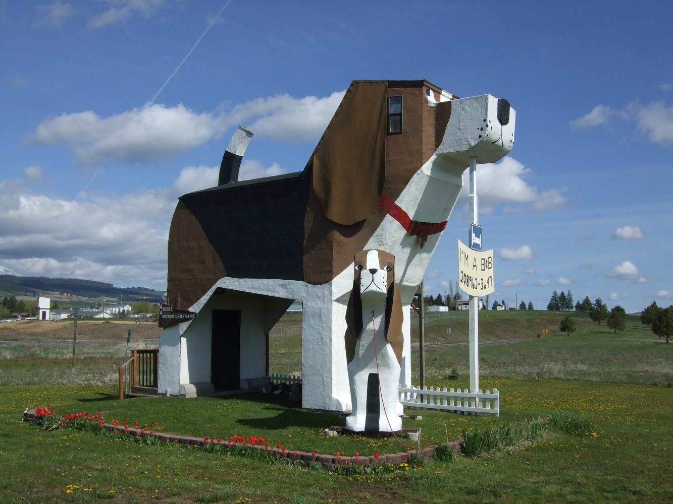Dog Bark Park Inn en Idaho, (EEUU)