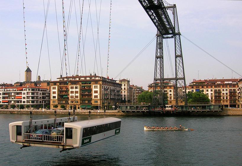 El puente de Vizcaya, de Alberto Palacio. Getxo/Portugalete (España)