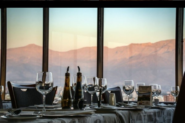 Con vistas a los Andes