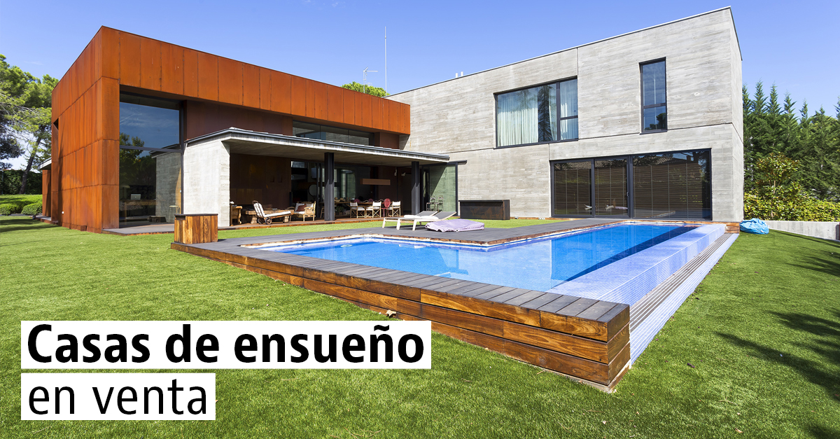 Casas espectaculares en venta idealista news for Fotos de casas modernas increibles