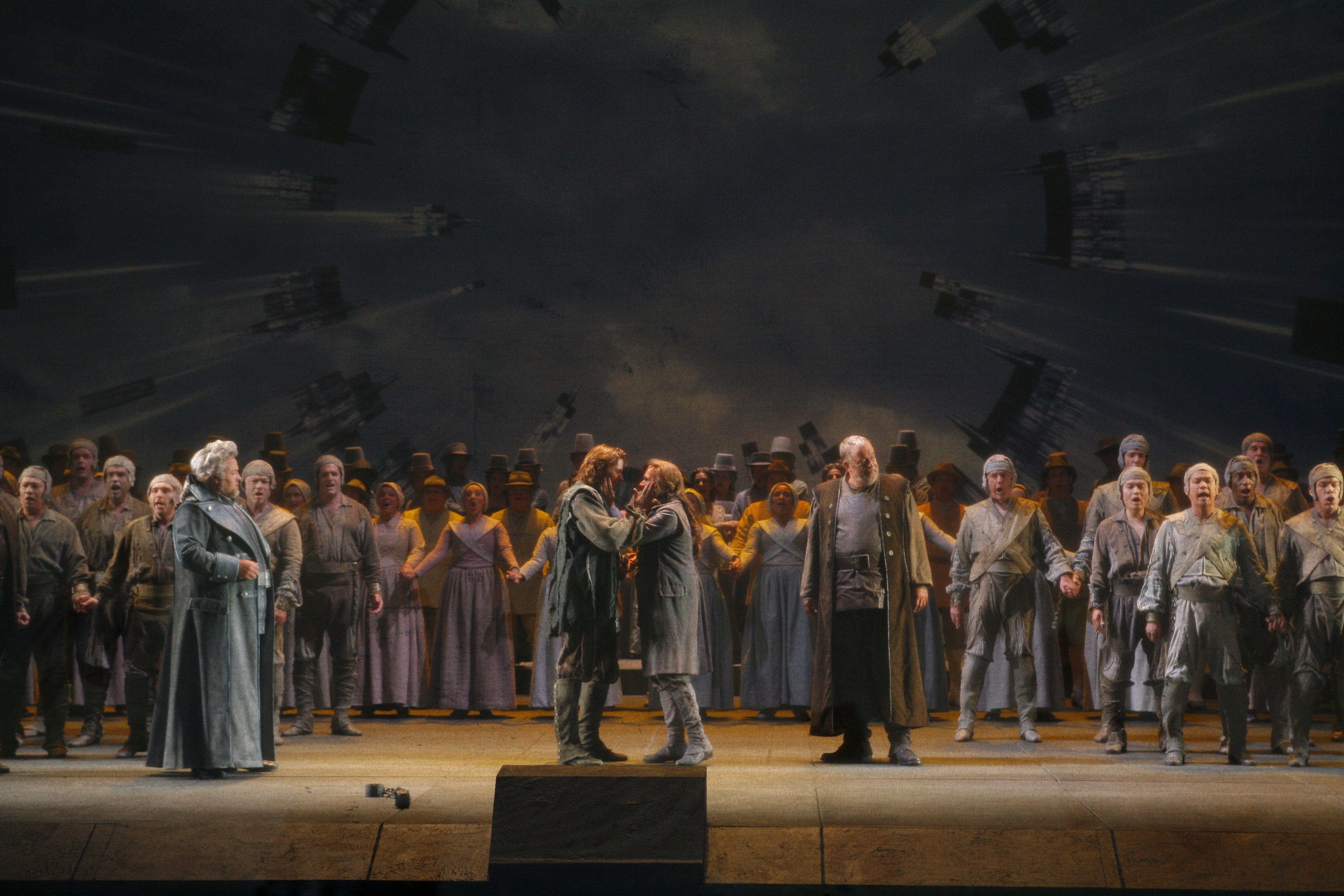 'Fidelio', la única ópera que compuso beethoven, en el Teatro de la Maestranza de Sevilla