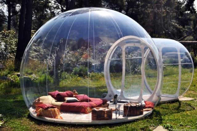 Foto: Bubble Tent