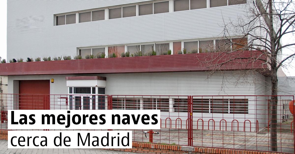 Las mejores naves industriales de Madrid y alrededores
