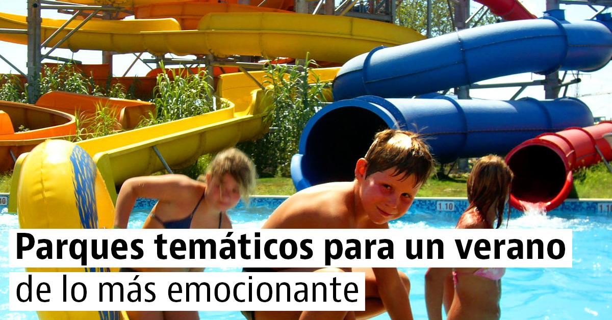 5 Parques temáticos para viajar con niños
