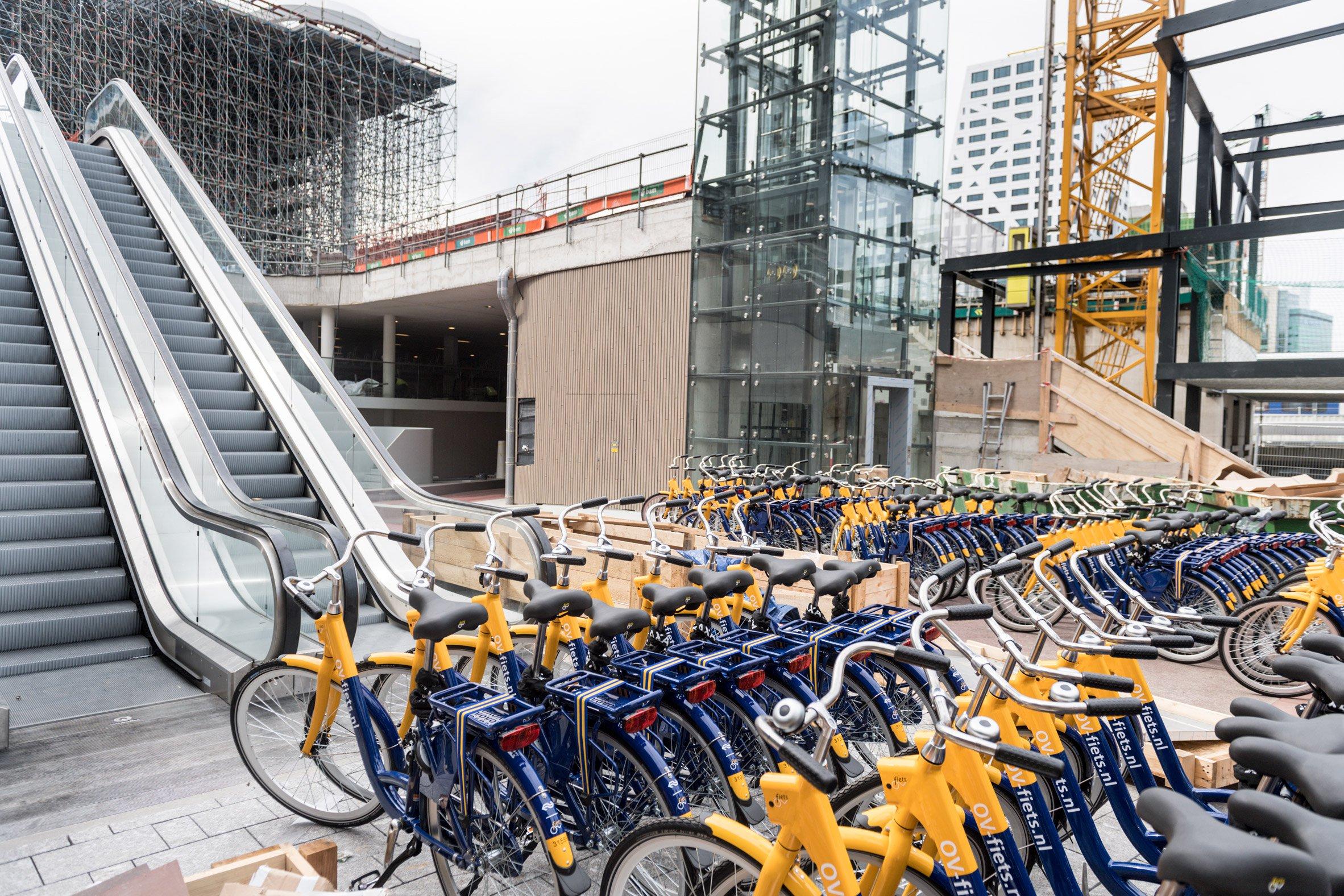 En Holanda la bicicleta es básica en el transporte diario
