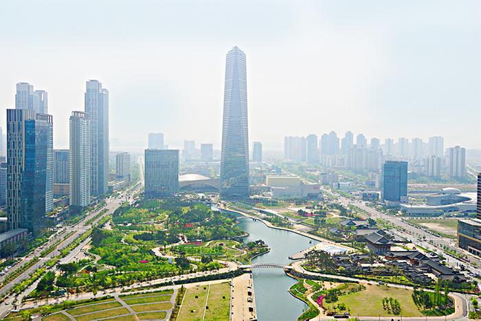 Songdo ha atraído a grandes inversores, pero no a residentes. / Visit Korea