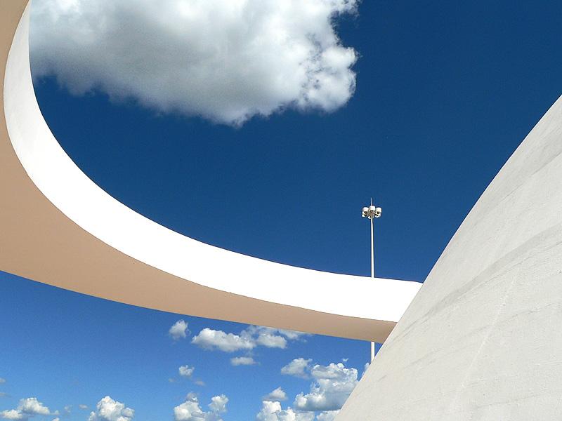 La Brasilia de Niemeyer es hogar de 2,5 millones de personas. / Flickr/Creative commons