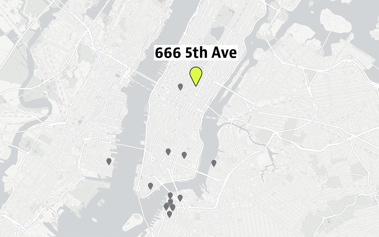 El multimillonario yerno de trump desesperado por pagar for Inmobiliaria 5th avenue