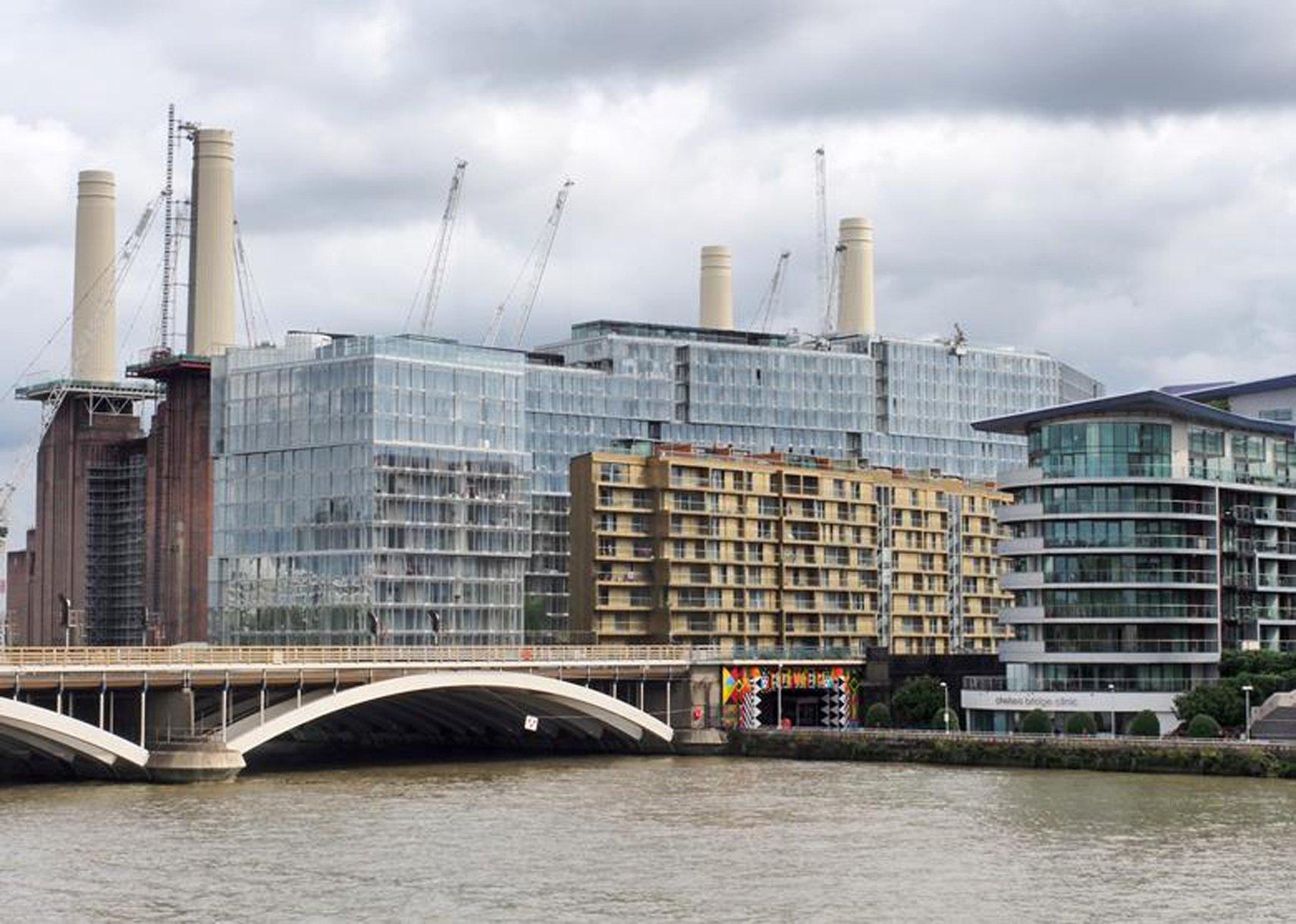 Circus West, Battersea Power Station (Londres) de Simpson Haugh