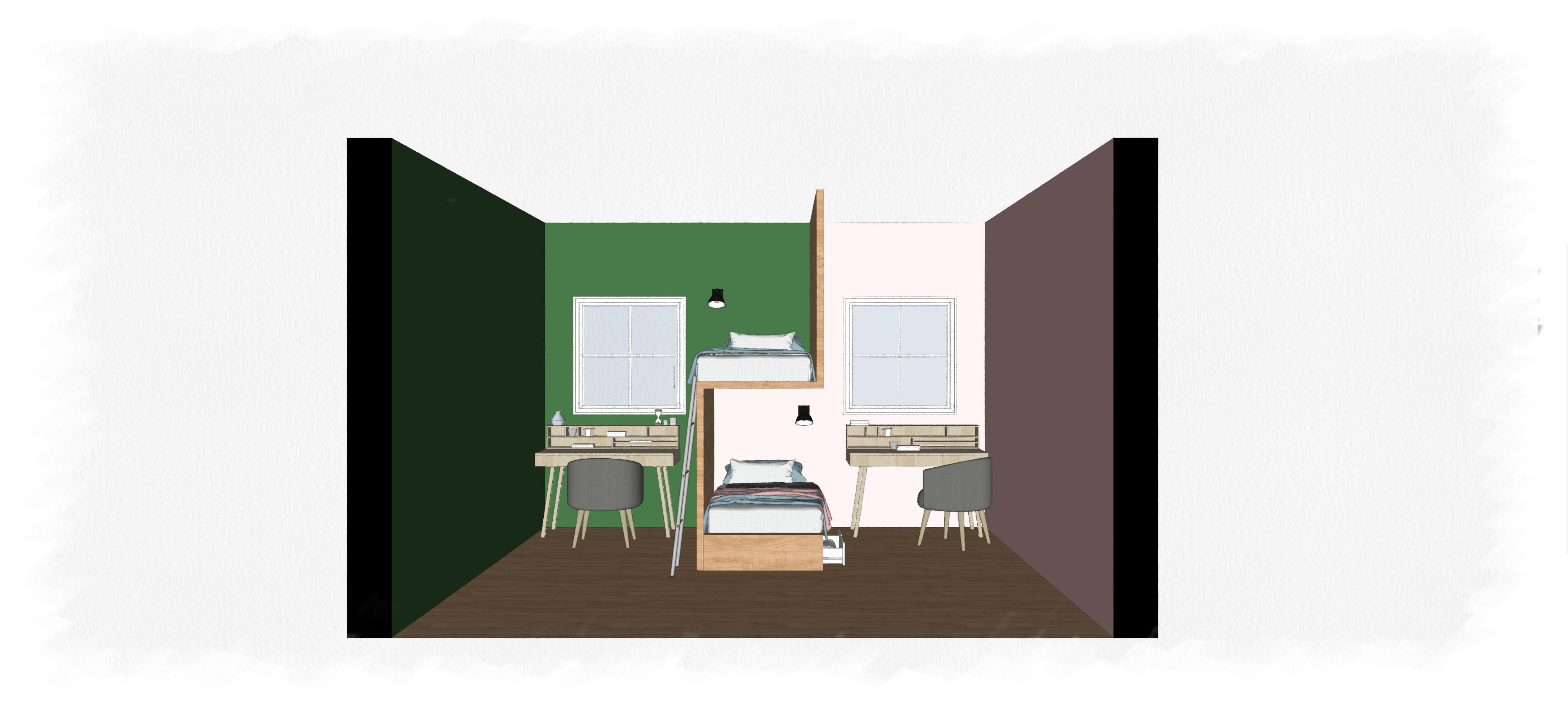 39 hackeos dom sticos 39 c mo dividir un dormitorio infantil for Como dividir una habitacion
