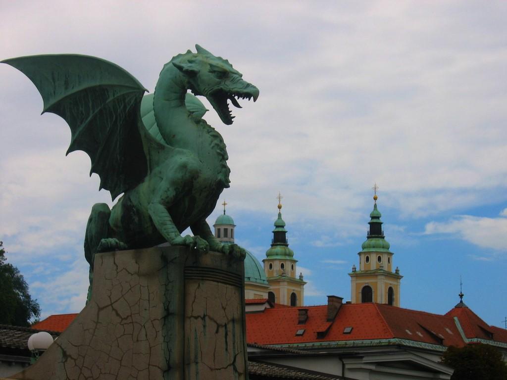 Foto: Puente de los Dragones de Liubliana | Victoria Reay