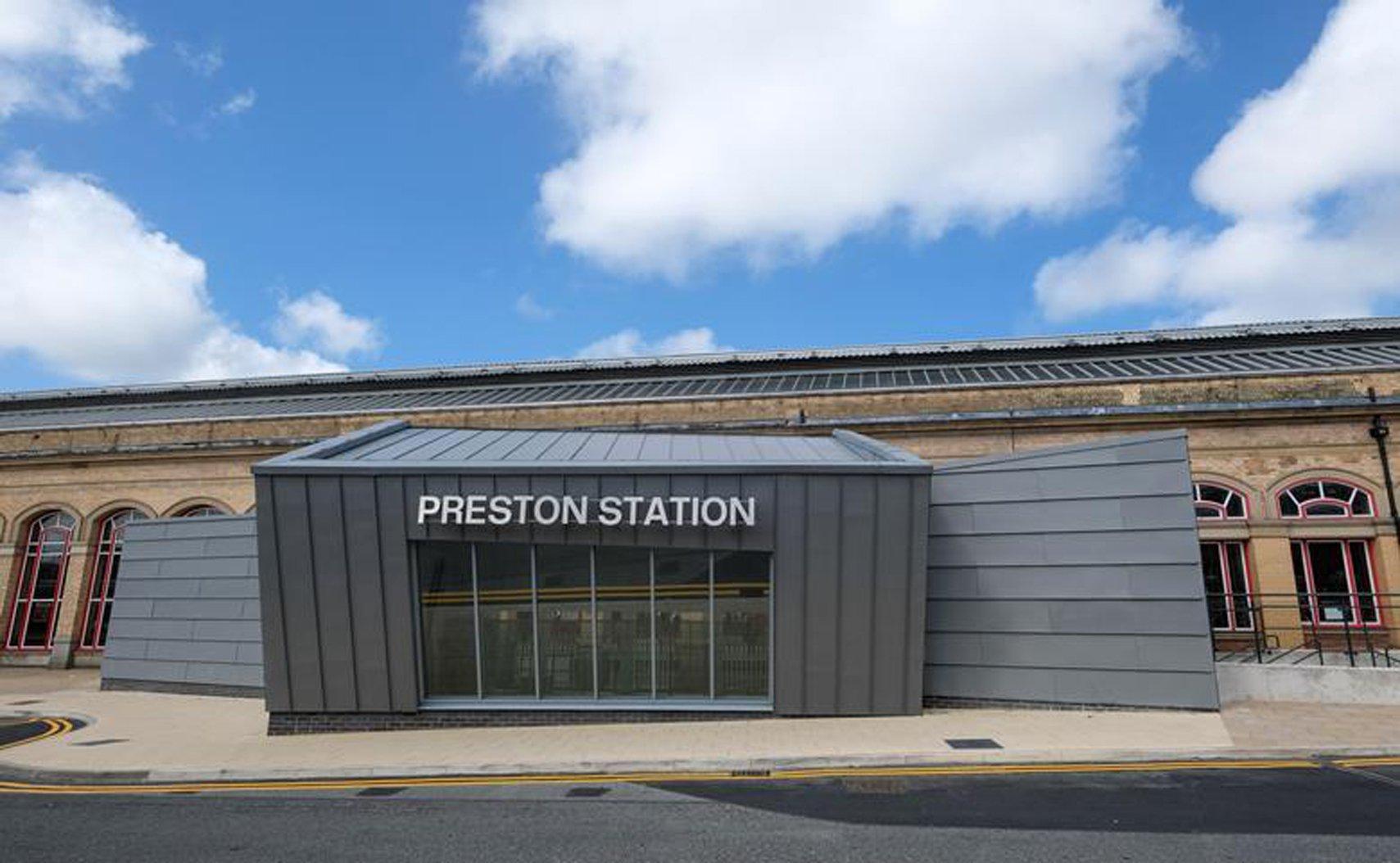 Preston Railway Station Butler Street Entrance (Preston) de AHR