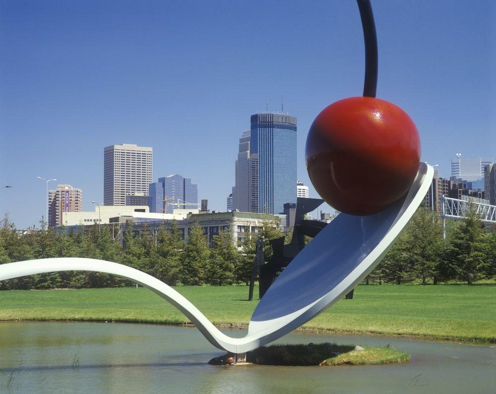 The Minneapolis Sculpture Garden at the Walker Art Center, Minneapolis