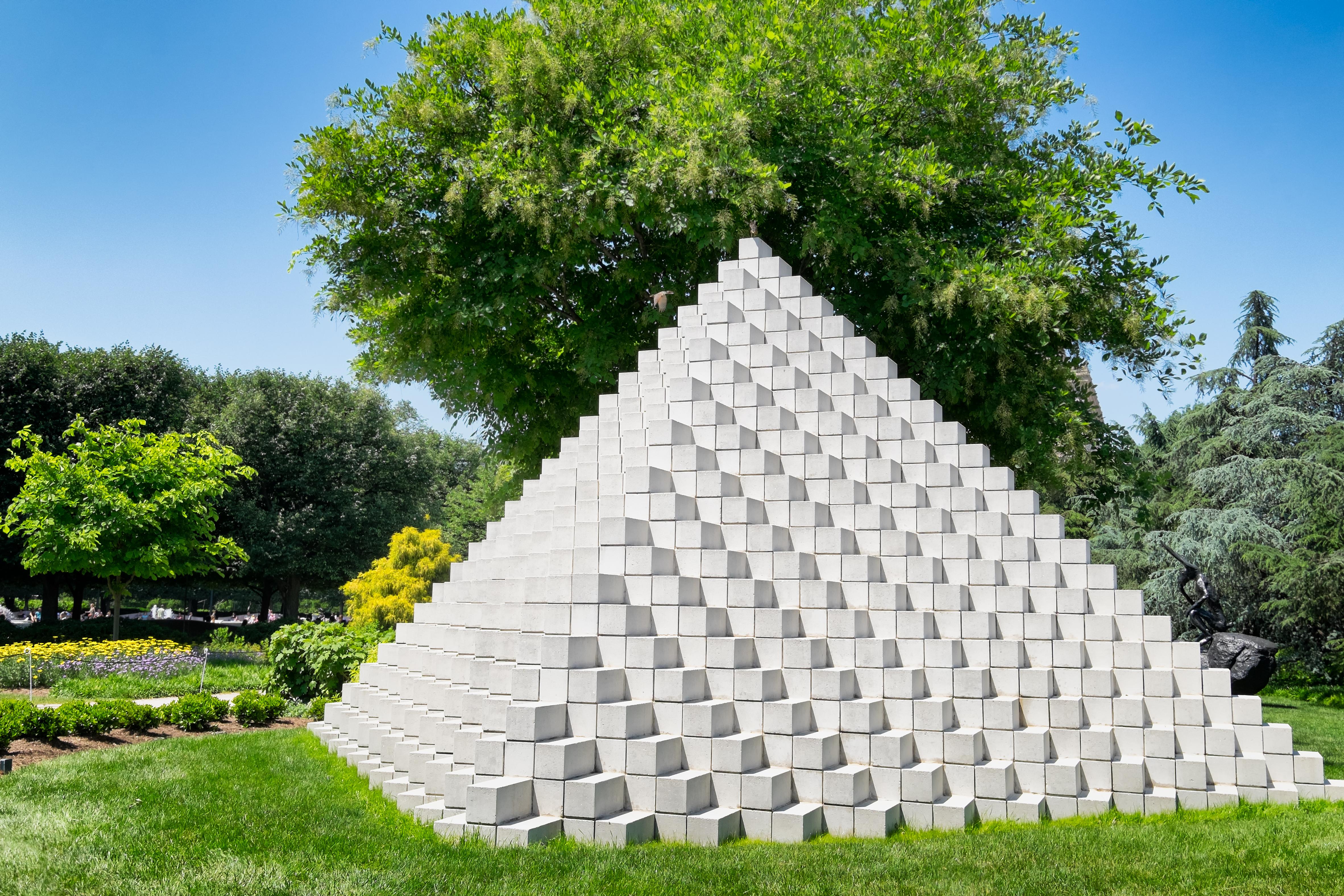 The Sculpture Garden of the National Gallery of Art, Washington D.C.
