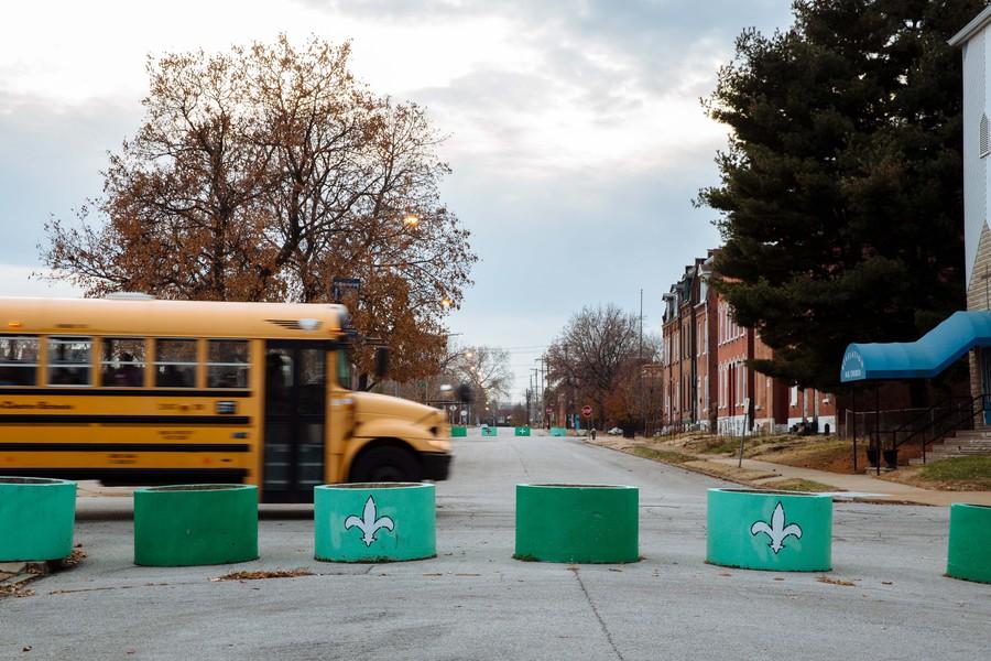 Bloqueos de calles en St. Louis / ProPublica