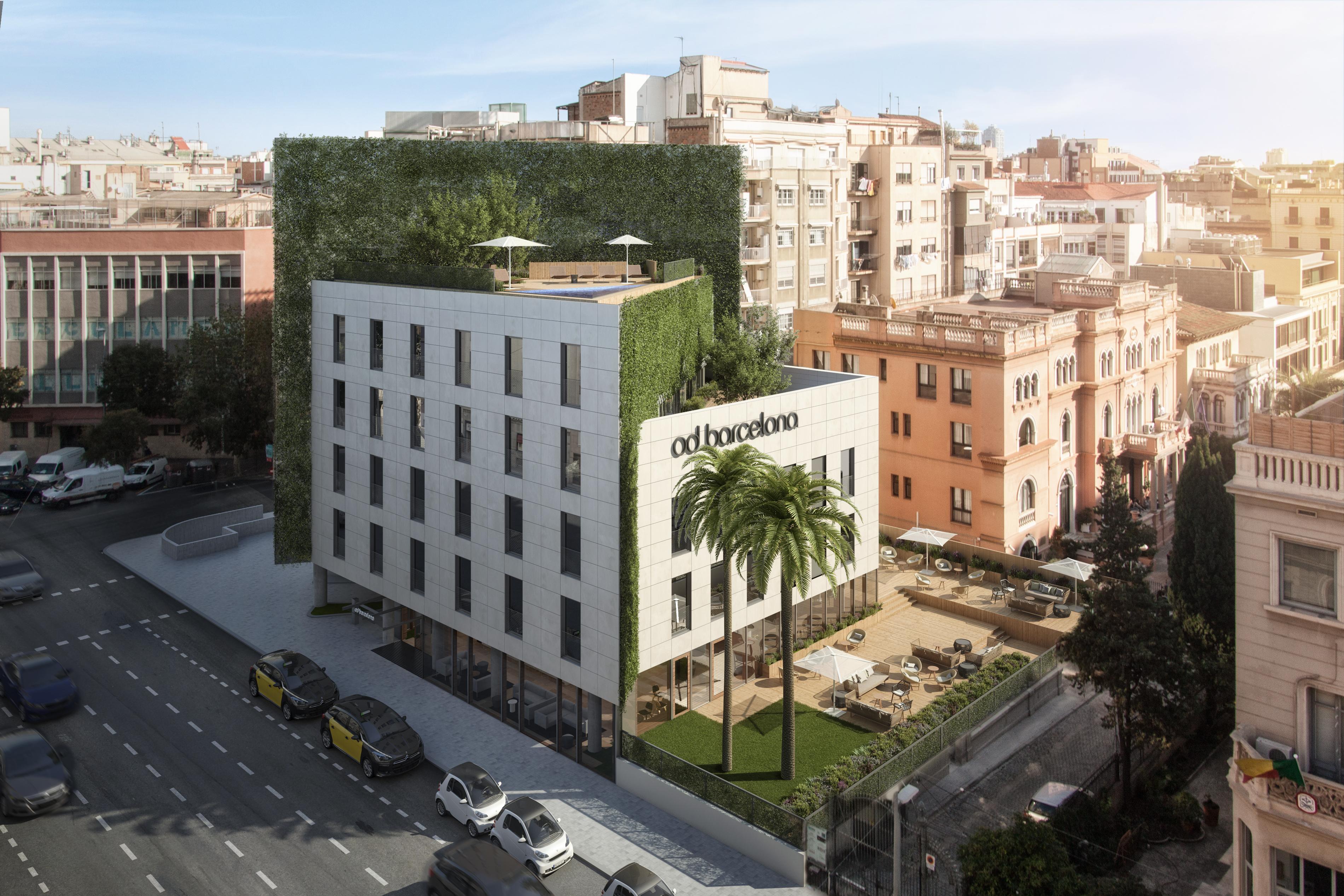 vista aérea del hotel / Od Barcelona