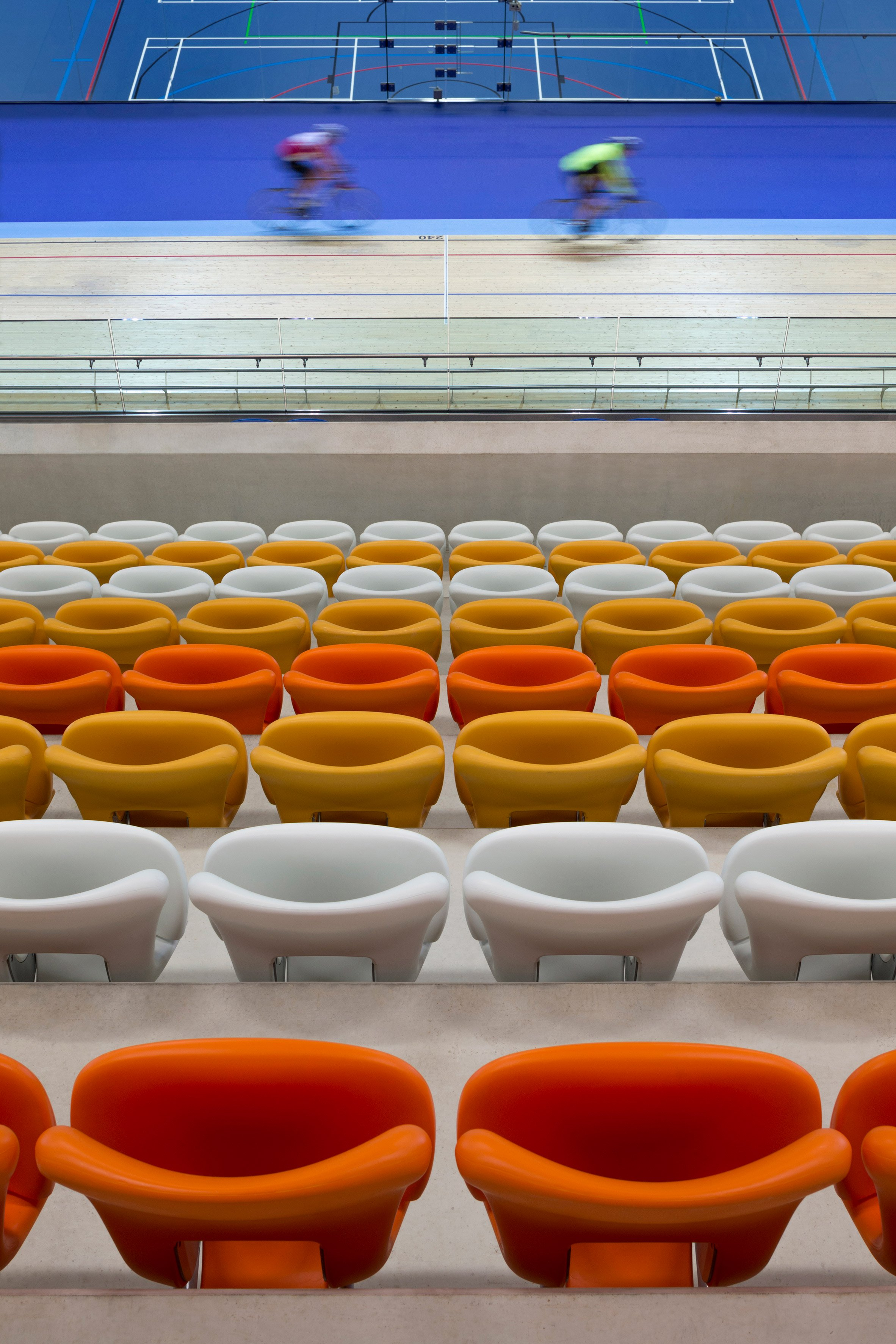 Derby Arena Velodrome, UK, by Faulkner Brown Architects