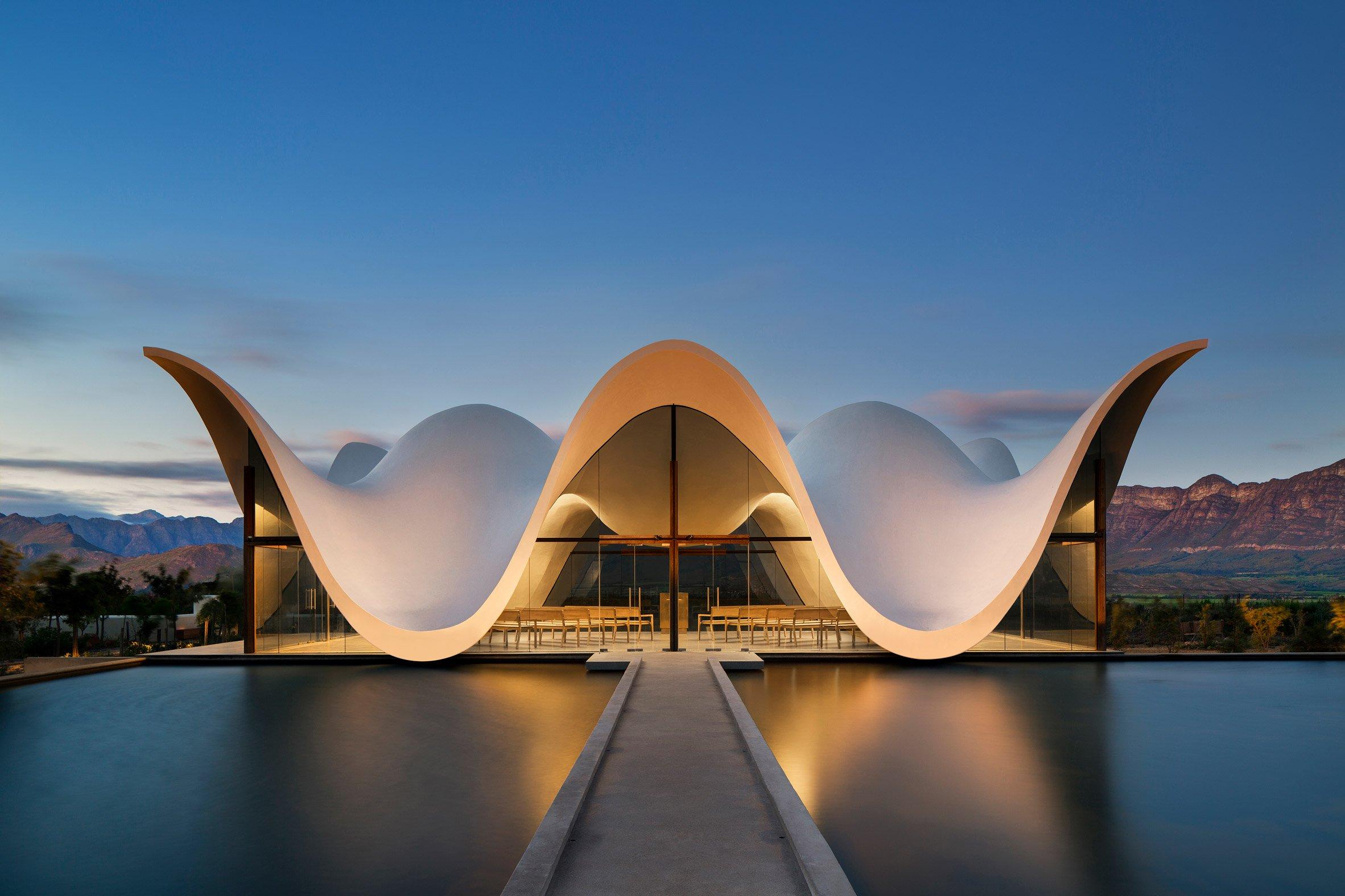 Bosjes Chapel, Ceres, Cape Town (South Africa), by Steyn Studio
