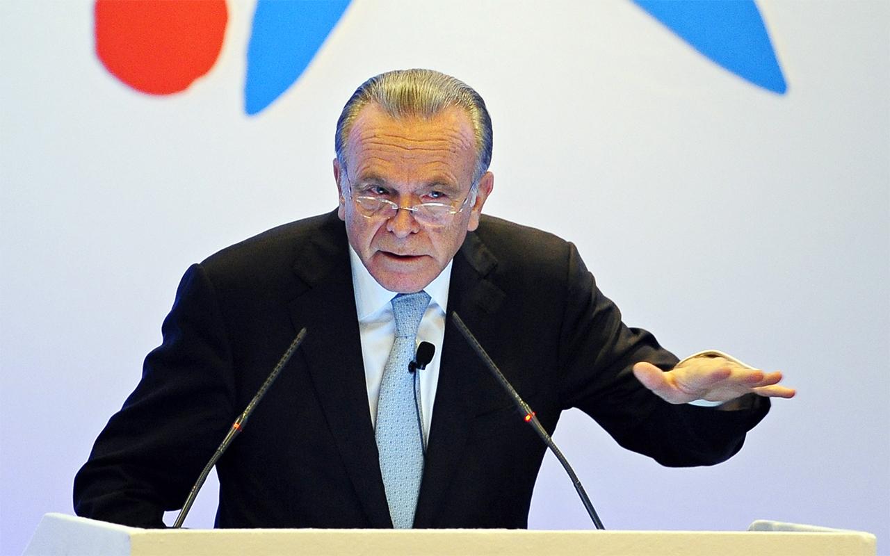 Isidre Fainé, presidente de Criteria CaixaCorp. / Gtres