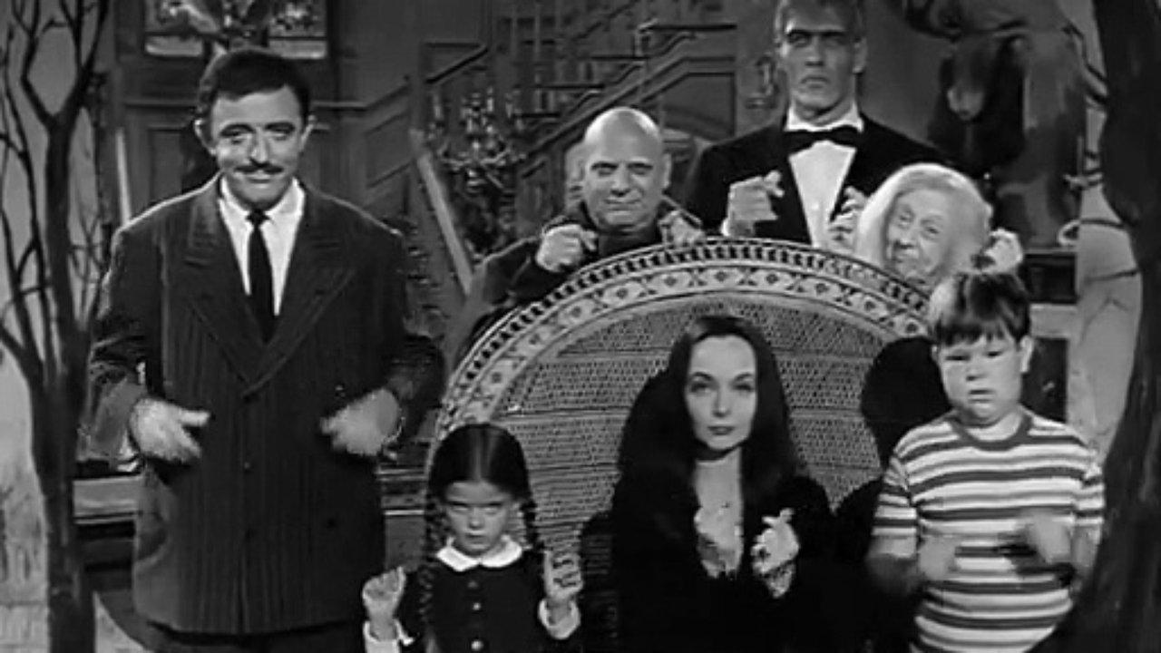 Fotograma de la serie 'La familia Addams'