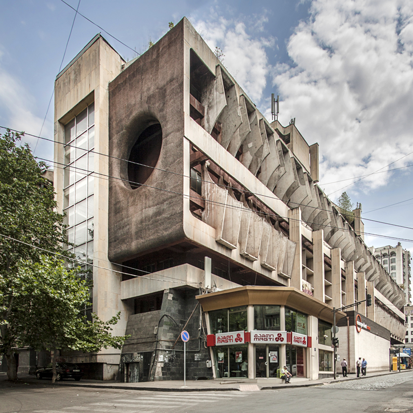 Technical library by bichiasshvili (1985) in Tbilisi