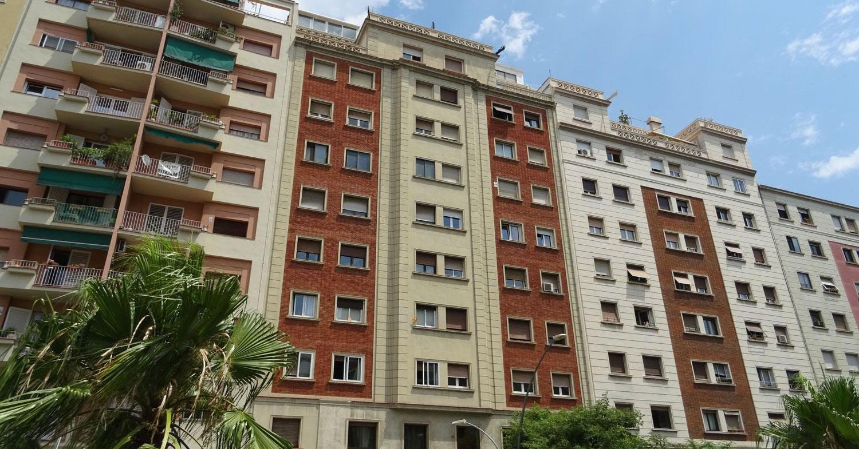 Pisos con terraza en las principales ciudades espa olas - Pisos economicos en barcelona ...