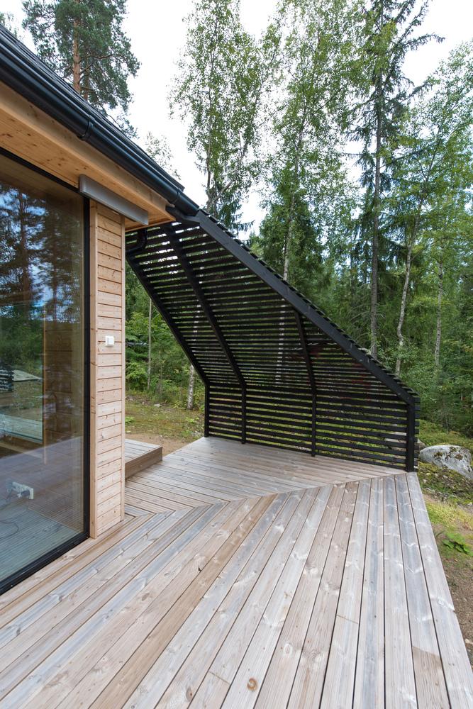 Detalle del exterior de la vivienda / Timo Laaksonen