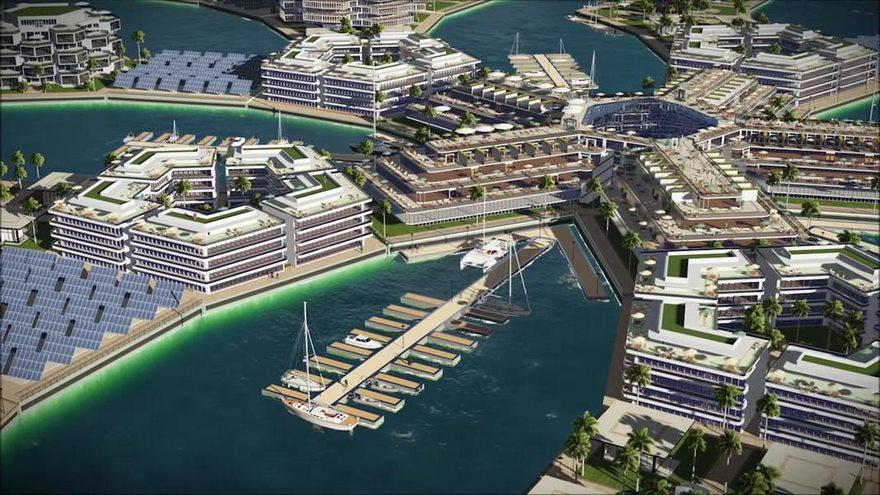Las ciudades flotantes contarían con oficinas y centro de recreo