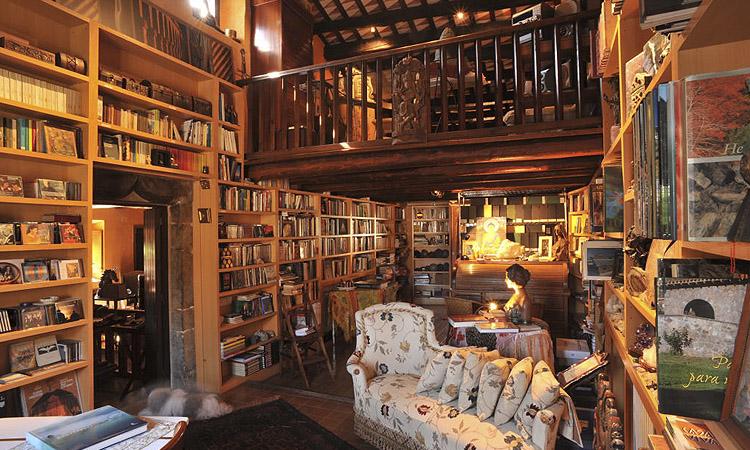El espacio de lectura, con más de 5.000 ejemplares a su disposición