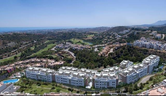 Recreación de los exclusivos apartamentos de la promoción Botanic en Benahavis, Marbella. / Taylor Wimpey