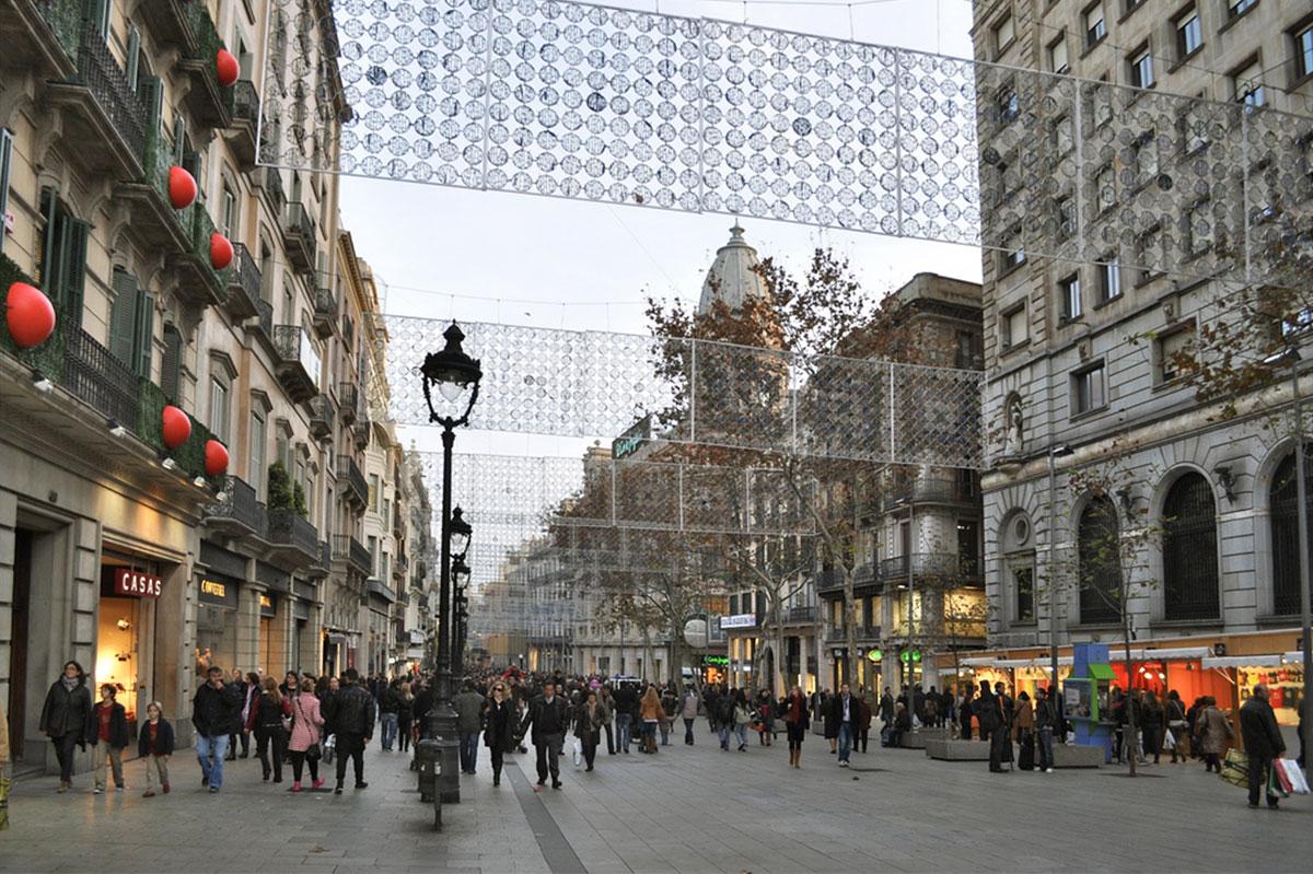 Portal de l'Àngel de Barcelona / Flickr/Creative commons