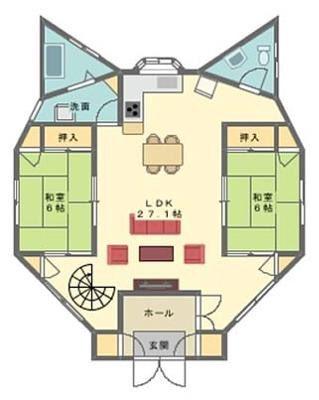 El diseño de una casa perfecta para los fans de Doraemon