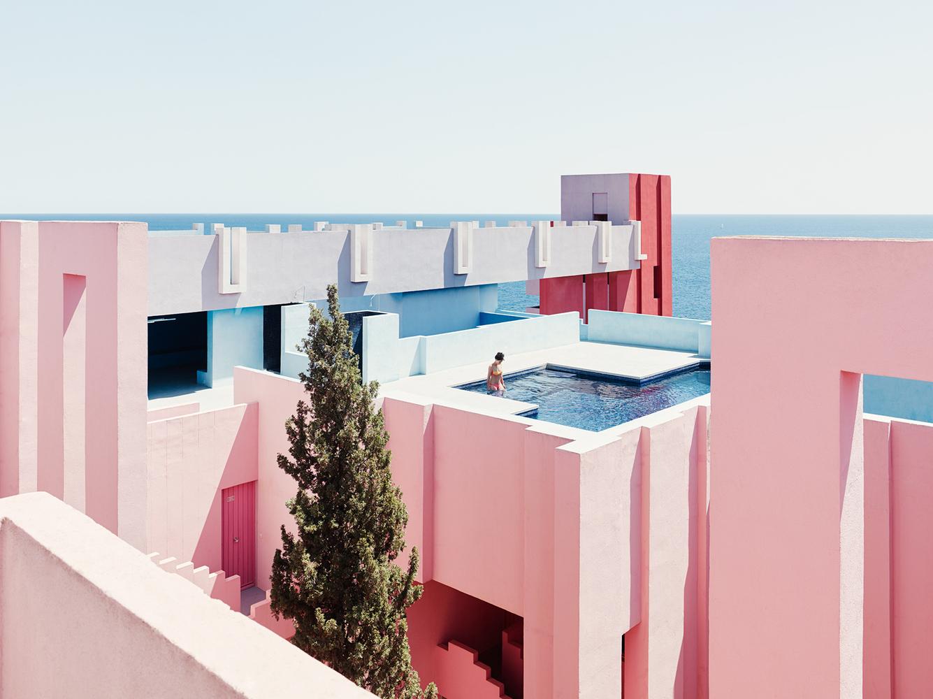 Un clásico: La Muralla Roja / Ricardo Bofill