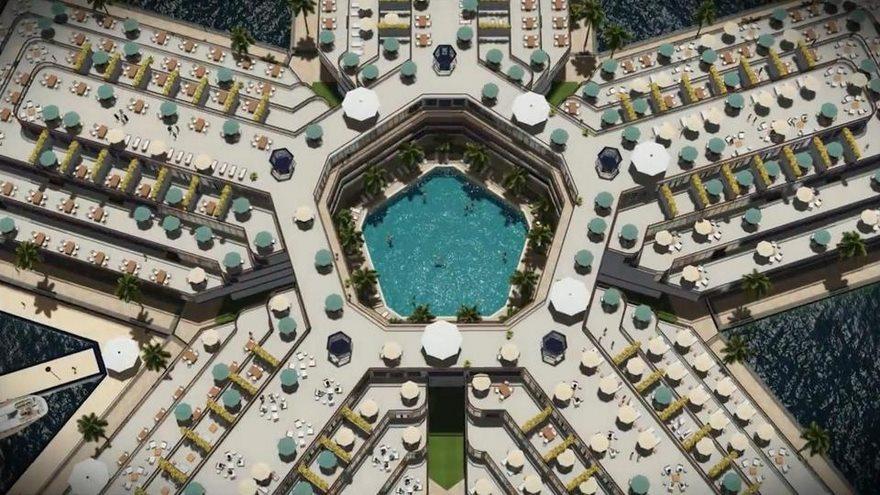 Pabellones flotantes