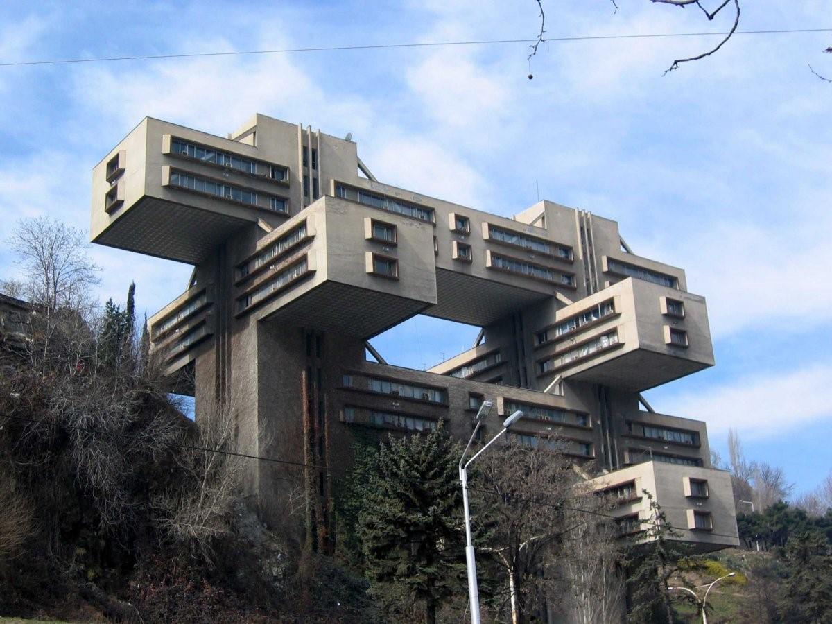 Edificio de viviendas en Tblisi, Georgia
