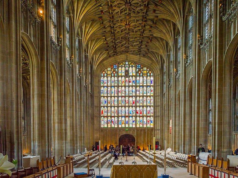 Una de las iglesias más bellas de Reino Unido