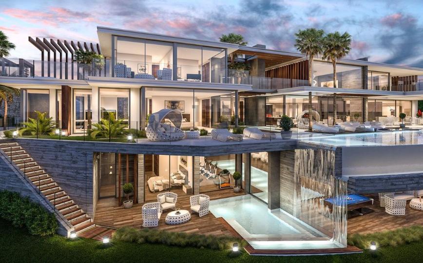 Las 10 casas de lujo m s visitadas en 2017 y a n en venta for Mansiones de lujo en madrid
