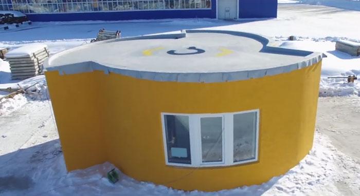 La primera casa impresa en 3D