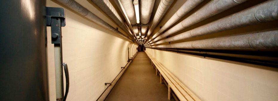 El Búnker tiene red de túneles de 300 metros de largo