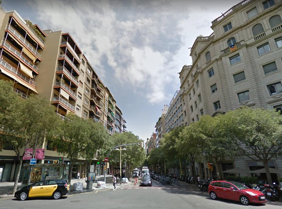 Entrada a Calle Tuset