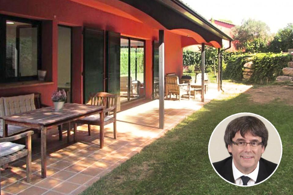 Así es el chalet donde vivía Puigdemont con su familia antes de 'exiliarse'