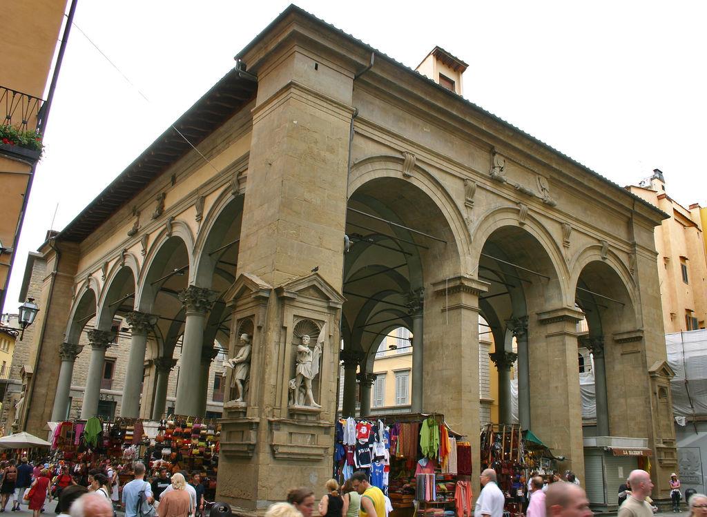 Mercato Nuovo en Florencia
